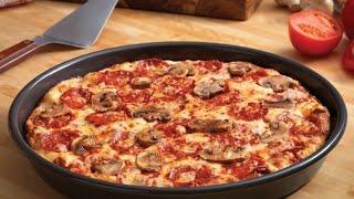 тесто для пиццы на сковороде за 10 минут