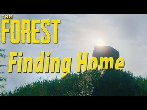 ►Finding Home, To Protect Our Burnt Meat! ( ˃̣̣̥ω˂̣̣̥ ) [Hard Mode] Episode 2~  | The Forest