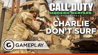 """Charlie Don't Surf"" Full Mission - Call of Duty: Modern Warfare Remastered Gameplay"