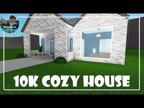 Roblox 10k Cozy House Bloxburg - roblox bloxburg speed builds modern 10k