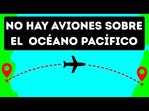 Por qu los aviones no vuelan sobre el ocano Pacfico