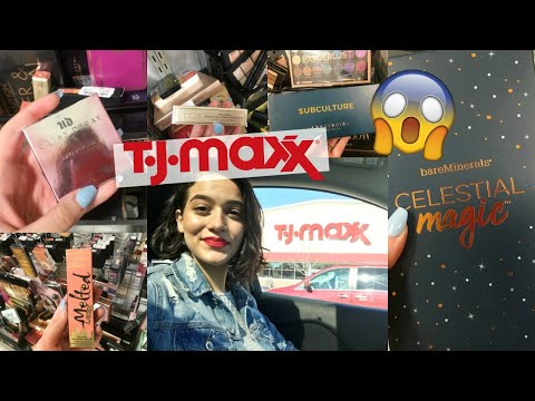 HEAVEN AT TJMAXX!! Cheap High End Makeup & Skincare Haul 2019