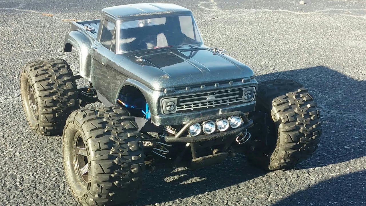 Traxxas Stampede 4x4 VXl with Proline F100 Body
