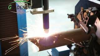 Big size plasma cutting machine plasma cutter for square pipe metal
