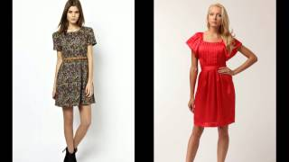 С чем носить короткое платье