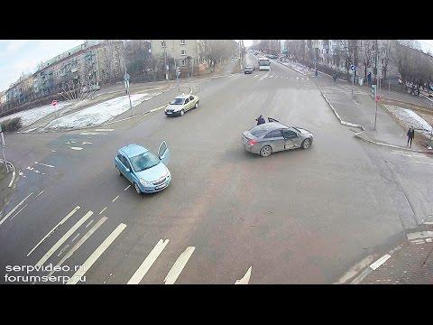 ДТП в Серпухове. Рассмешил... 01 апреля 2017г.