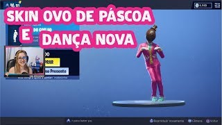 Fortnite-I bought the Easter egg Skin and the dance