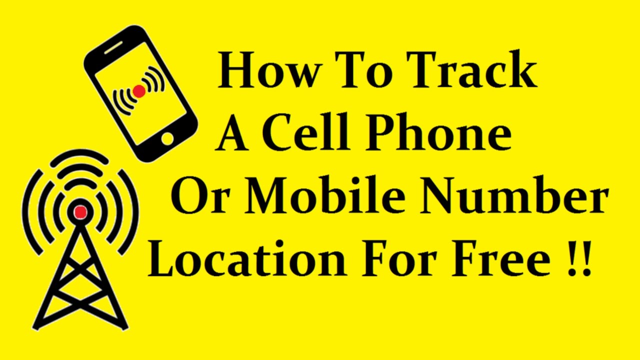 simple trick to track a cell phone or mobile number location for free technical toons youtube. Black Bedroom Furniture Sets. Home Design Ideas