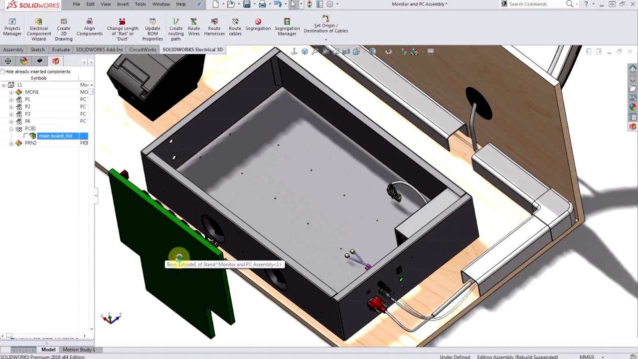 SOLIDWORKS Electrical: Creating PCB from an Electronic Design File ...