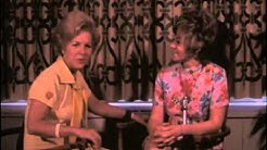 """Bette Rogge interviews Sue Ane Langdon about her new TV show """"Arnie."""""""