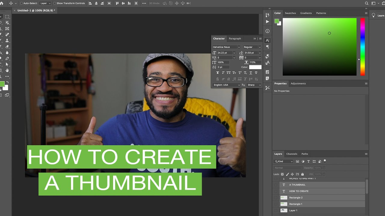 How to create a thumbnail that will attract viewers on Youtube