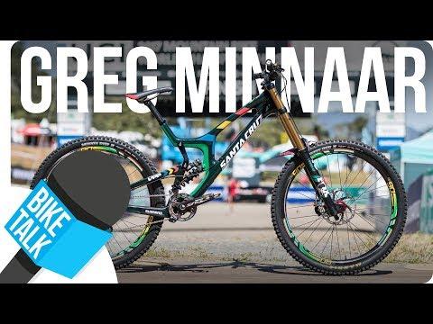 Bike Talk with Downhill legend Greg Minnaar | SHIMANO