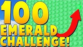 100-emerald-challenge-minecraft