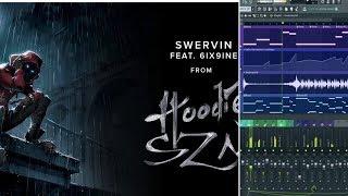 🔥A Boogie Wit Da Hoodie - Swervin feat. 6ix9ine Beat Remake/ instrumental fl studio