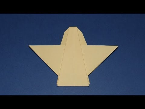 How To Make An Origami Angel Youtube