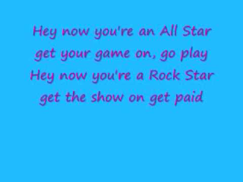 All Star with lyrics