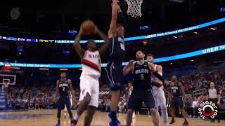 Portland Trail Blazers vs Orlando Magic - Full Game Highlights - December 15, 2017