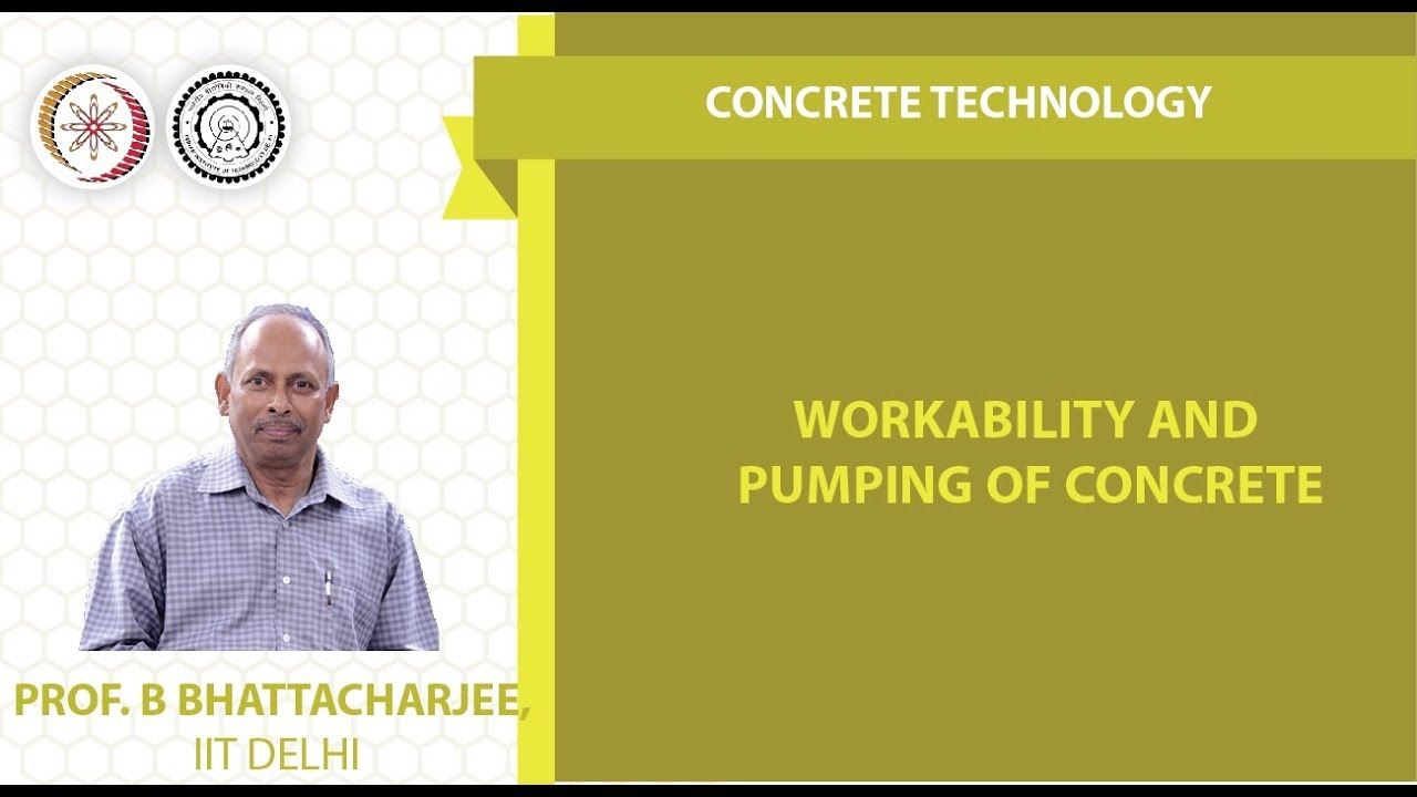 Workability and Pumping of Concrete