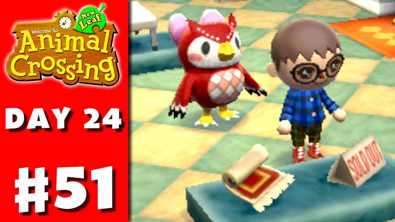 Animal Crossing: New Leaf - Part 51 - Museum Renovation (Nintendo 3DS  Gameplay Walkthrough Day 24)