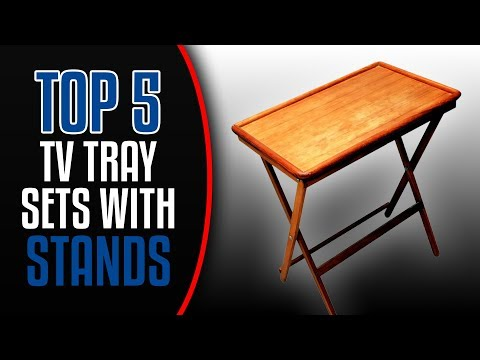 TV Tray Set With Stand | Top 5 BEST-Reviewed TV Tray Sets With Stands