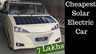 Cheapest Solar Electric Car Made in Pakistan    Economia ECO-3GL