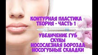 Обучение по контурной пластике   контурная пластика филлерами   увеличение губ