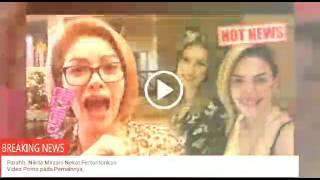 Download Video Parahh..Nikita Mirzani Nekat Pertontonkan Video Porno pada Pemainnya, MP3 3GP MP4