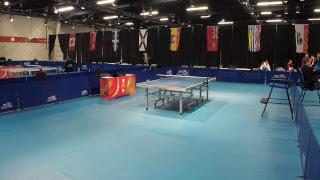 2019 CWG - Table Tennis - Women's/Men's Team Semi-Finals  - Table 2