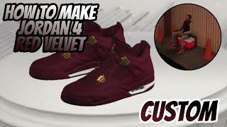 NBA 2K17: How to make Jordan 4 Red