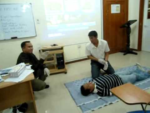 Ottoy - DISS ,   First Aid Training  - 26 /10/ 2012