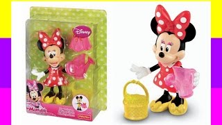 Disney Minnie Mouse Flower Garden Set Toy
