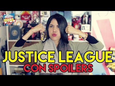 #SinFiltro - Justice League/Opinión con Spoilers