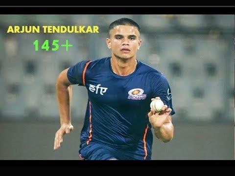 Arjun Tendulkar Bowling With Pace   India U19   Sachin Tendulkar's Son