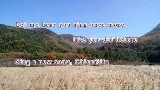 "Abba ""Chiquitita"" with lyrics アバの代表曲の1つですね。79年に発表..."