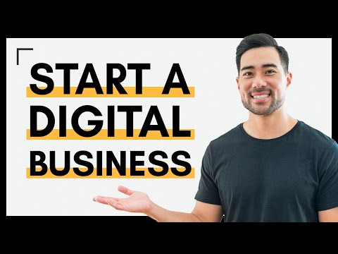 HOW TO START A DIGITAL BUSINESS // How To Start a Website To Sell Products