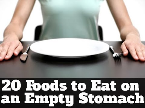 20 Foods to Eat on an Empty Stomach to Lose Weight