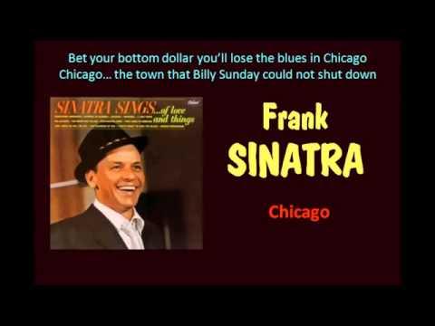 Chicago Frank Sinatra  With Lyrics