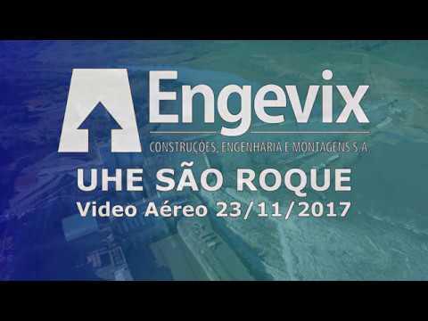 UHE São Roque - 23/11/17 - ENGEVIX CONSTRUÇÕES