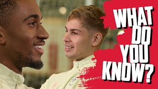 Emile Smith Rowe vs Reiss Nelson | What Do You Know?