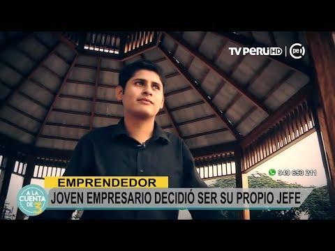 A La Cuenta De 3 (TV Perú) - Joven Empresario Decidió Ser Su Propio Jefe - 23/08/2017