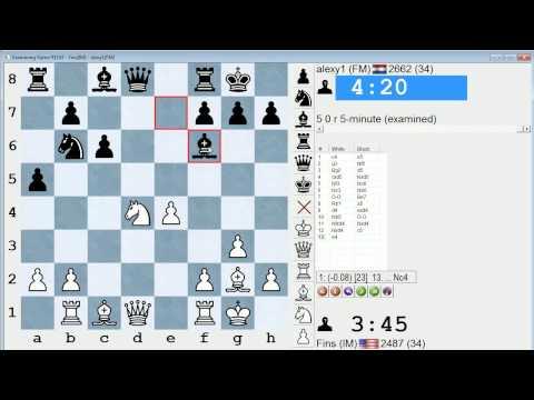 Blitz Chess #114: IM Bartholomew vs. FM Timmermans (English Opening)
