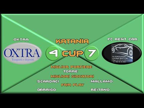 Katania Cup over 40    Oxtra 4:7 FC Rent Car   Giornata 10