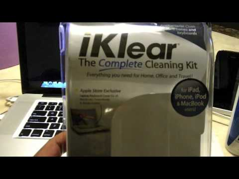 Best way to clean your  MacBook Pro  (iKlear )