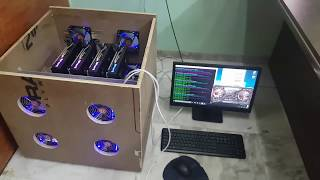 MINING RIG INDIA RX580.. How to earn through mining bitcoin ethereum dash zcash