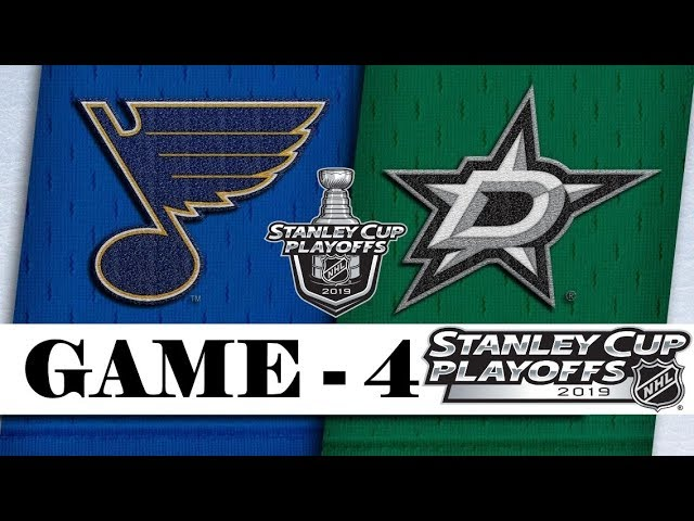 St. Louis Blues vs Dallas Stars | Second round | Game 4 | Stanley Cup 2019 | Обзор