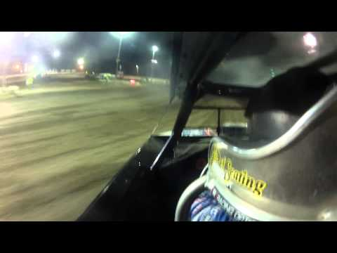 Mike McKinney l Kankakee County Speedway l UMP Modified A-Main l 7.18.14