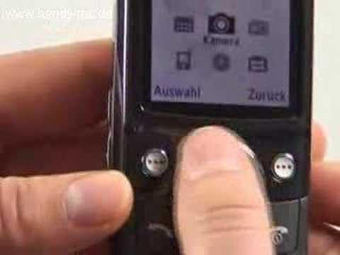 Samsung SGH G600 Bedienung
