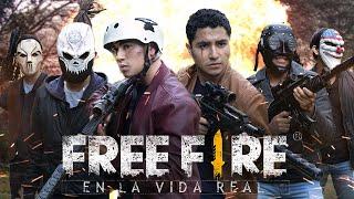 FREE FIRE EN LA VIDA REAL! -  FREE FIRE LA PELÍCULA - Changovision - Free Fire (la serie, parodia)