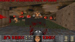 Doom II: Hell on Earth - Nightmare! difficulty in 22:56 - 30nm2256 Speedrun