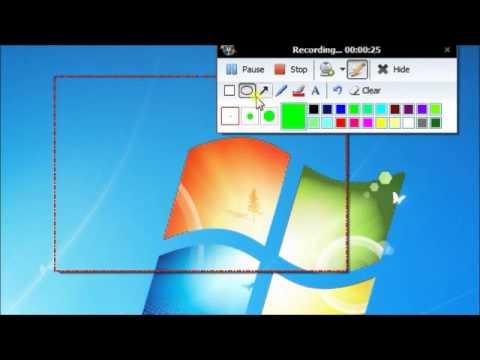 screen recording software free windows 7